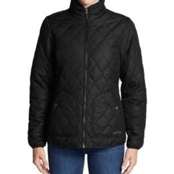 Eddie Bauer Jackets & Blazers - Eddie Bauer Ladies' Quilted Jacket, Black